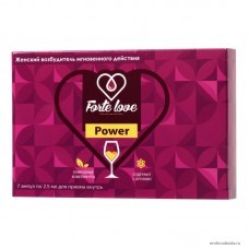 Капли для женщин Forte Love Power, 7 ампул по 2,5 мл