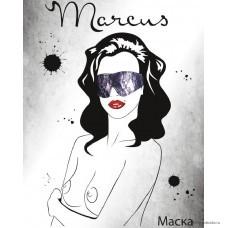 Кружевная маска TOYFA Marcus, пурпурный