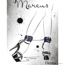 Кружевные поножи TOYFA Marcus, пурпурный