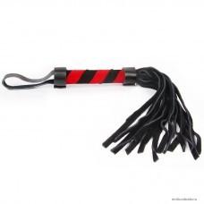 Плетка Notabu цвет чёрный ручка 110 мм, хвост 160 мм