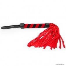Плетка Notabu цвет красный ручка 155 мм, хвост 230 мм