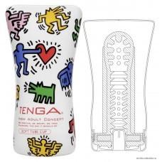 Мастурбатор Soft Tube TENGA&Keith Haring