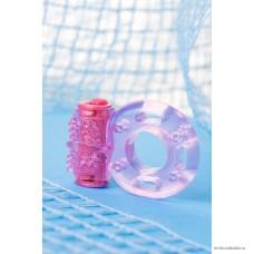 Виброкольцо TOYFA розовый