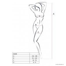 Костюм-сетка Passion Erotic Line Винтаж чёрный OS