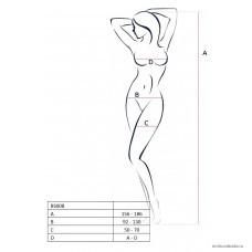 Костюм-сетка Passion Erotic Line белый OS