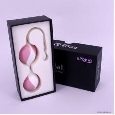 Вагинальные шарики EROKEY розовые 3,4 см