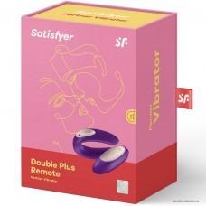 Вибратор для пар Satisfyer Partner Plus Remote